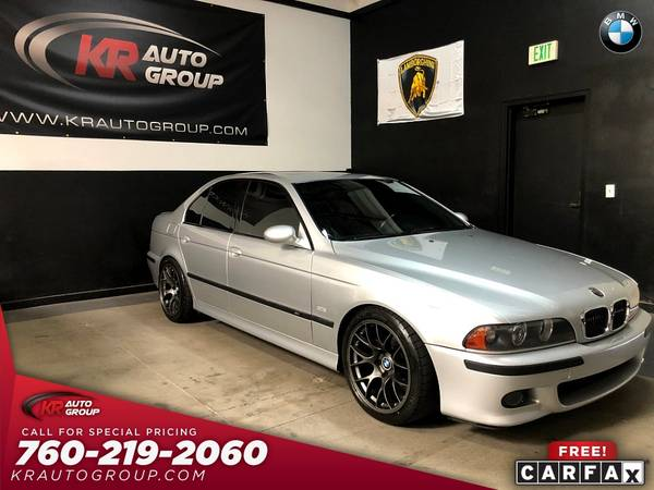 Photo 2000 BMW M5 LIKE NEW CONDITIONCLEAN CARFAX1 OF A KIND - $27,950 (Palm Desert)