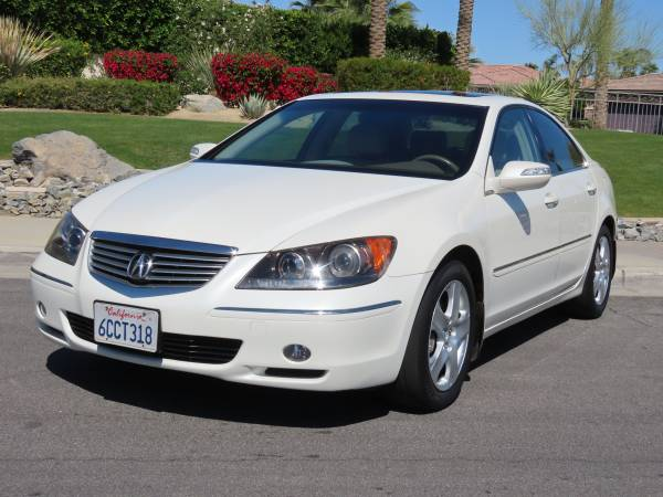 Photo 2005 Acura RL SH-AWD, Navigation, 91k mi, No Accidents Excellent Cond - $7885 (Palm Desert)