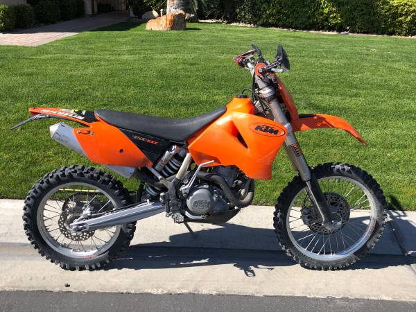 Photo 2005 KTM 450 EXC - $4,400 (La Quinta)