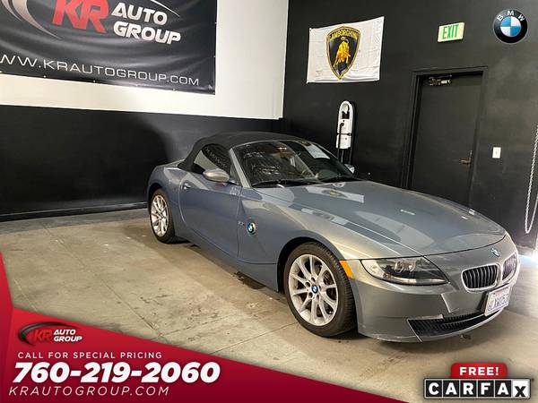 Photo 2007 BMW Z4POWER TOPHEATED SEATSLOW MILES. - $8,950 (Palm Desert)