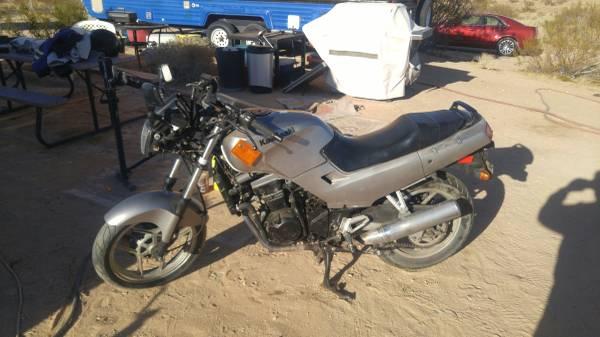 Photo 2007 Kawasaki Ninja 250r Naked - $1,500 (Yucca Valley)