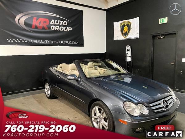 Photo 2008 MERCEDES CLK350 CONVERTIBLEandand 66044 ORIGINAL MILESNICE CAR - $12,950 (Palm Desert)