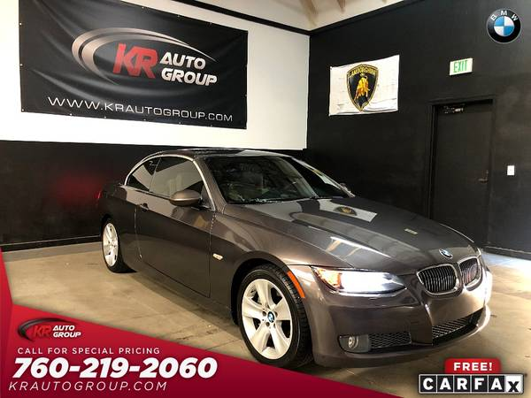 Photo 2009 BMW 335I CONVERTIBLE LOW MILES 1 OWNER LIKE NEW - $11,950 (Palm Desert)