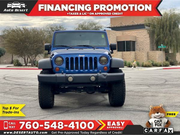Photo 2009 Jeep Wrangler 4WD 4 WD 4-WD 2dr 2 dr 2-dr X X $ - $12970 (BUY - SELL - TRADE - CONSIGN)