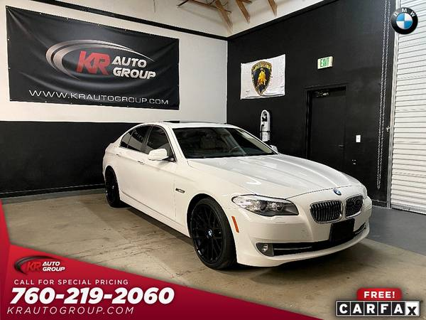 Photo 2013 BMW 528I NAVIGATION 20 WHEELSMUST SEE. - $14,950 (Palm Desert)