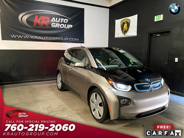 Photo 2014 BMW I3 MEGA WORLD LOW MILESNAVIGATIONNICE CAR. - $10,950 (Palm Desert)