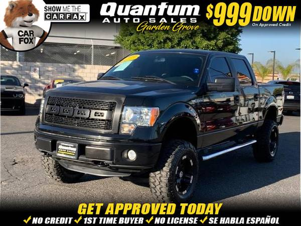 Photo 2014 Ford F150 SuperCrew Cab STX Pickup 4D 5 12 ft (- $999 Down oac - ALL CREDIT ACCEPTED HERE)