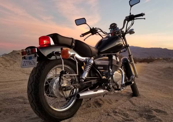 Photo 2015 Honda Rebel 250cc - $2,400 (Cathedral City)