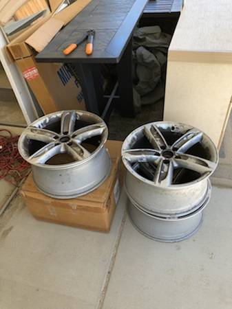 Photo (4) Mag 20 inch Rims Audi TTothers - $160 (Palm Springs)