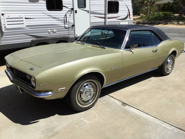 Photo 68 Chevy Camero - $45,000 (Yucca Valley)