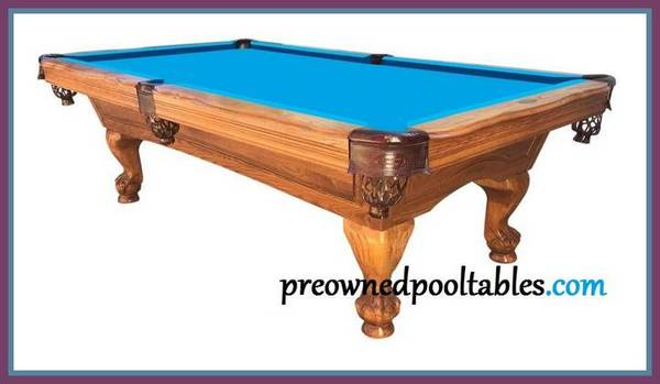 Photo 839 American Heritage pool table priced to sell (INSTALLATION included)