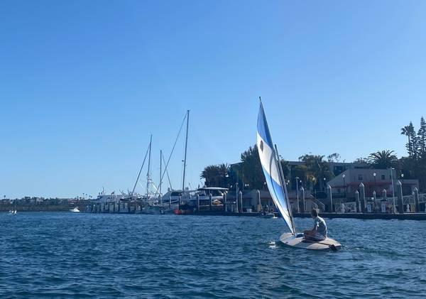 Photo Alcort Sunfish Sailboat - $700 (Marina Del Rey)