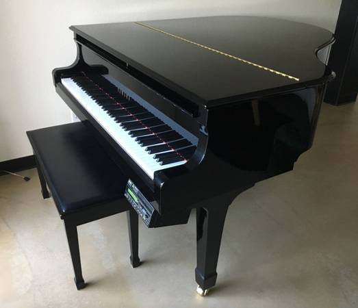 Photo Baby Grand 2002 Yamaha Disklavier - $13200 (Temecula)