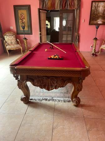 Photo Calypso Custom Pool Table - $3,500 (Desert Hot Springs)