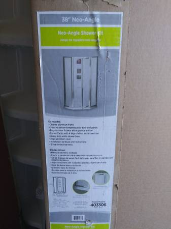 Photo Complete Shower kit new-open box - $299 (Yucca Valley)