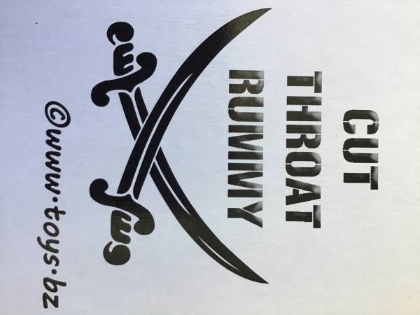 Photo Cut Throat Rummy - The Card Game - $15 (Palm Springs)