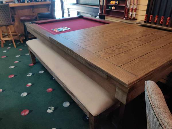 Photo Dining pool table - $1500 (Riverside)