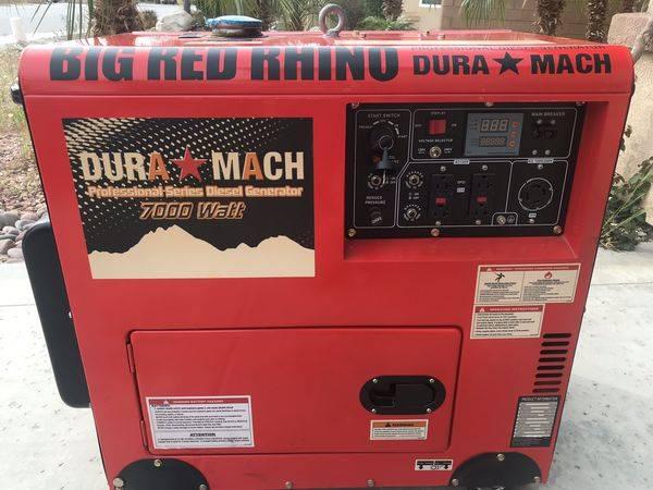 Photo Generator - Big Red Rhino - $2500 (Desert Hot Springs)