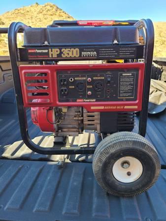 Photo Honda 3500 Watt Generator Coleman Powermate - $425 (Yucca Valley)