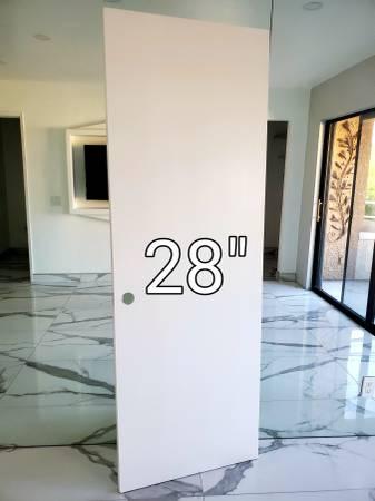 Photo Interior Spray Painted Door Slabs - $100 (Palm Sorings)