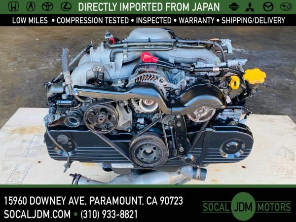 Photo JDM 1999-05 SUBARU IMPREZA FORESTER LEGACY OUTBACK BAJA EJ25 MOTOR ENG - $1,200 (Paramount)