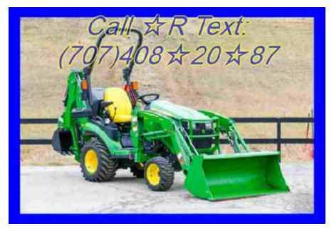 Photo John deere snowblower -25hp engine and 32quot cut - $1,020 (palm springs gt)
