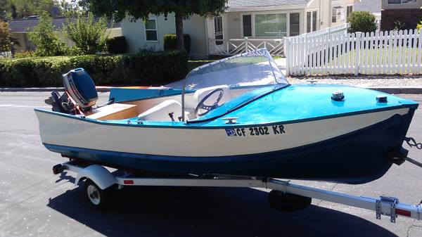 Lonestar Boat 1958 - $5,556 (La Crescenta)