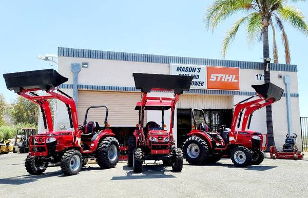 Photo MAHINDRA TRACTOR 1626HST 4X4 TRACTORS 0 FOR 72 MONTHS (riverside)