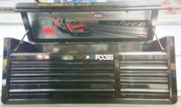 Photo Mac toolbox John Force Limited edition - $3,500 (Menifee)