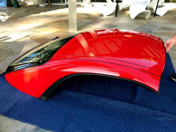 Photo Porsche 911, 996 Removable hardtop - $1,295 (Rancho Mirage)