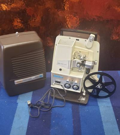 Photo Sears Easi-Load Automatic Super 8mm Film Movie Projector - $100 (Garden Grove)