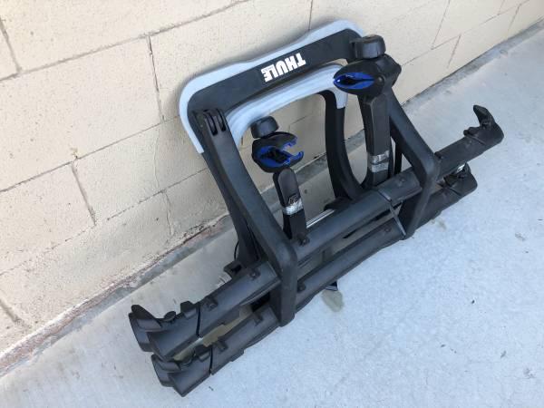 Photo Thule 9003 Pro Raceway platform bike rack - $350 (Palm Springs Ca)