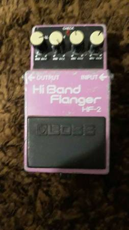 Photo Vintage 80s Boss HF-2 Hi Band Flanger - $100 (Palm Springs)