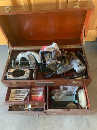 Photo Vintage Black and Decker Chest and Tools - $200 (Palm Desert)