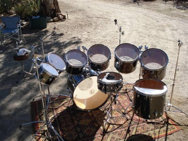 Photo vintage monster slingerland Drum set - $1,700 (morongo Valley)