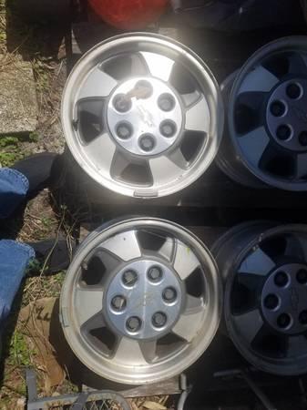 Photo 16 inch chevy wheels - $100 (panama city-callaway)