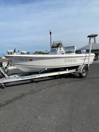Photo 176 sailfish cc 90 hp yamaha 2 stroke - $7,500 (port st joe)