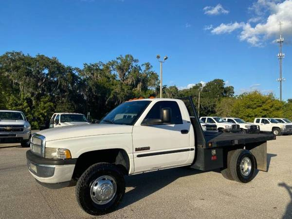 Photo 2001 DODGE RAM 3500 Flatbed Truck - $15,990 (Sarasota, FL 941-408-4199)