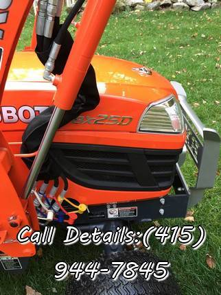 Photo 2013 Kubota BX25D-1 4WD, Front End Loader and Canopy only 15.6Hours - - $1,000 (panama city, FL gt)