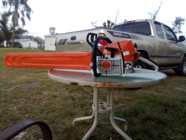 Photo 32 inch Stihl  20 inch Husqvarna Chainsaws - $1