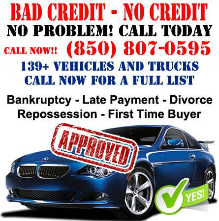Photo BAD CREDIT AND NO CREDIT OKAY HERE WE SAY YES JUST 499 DOWN CALL US - $499 (Call Today Drive Today 850-807-0595)