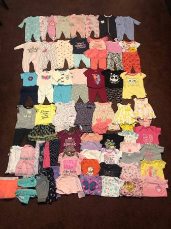 Photo Baby girl clothes lot - $60 (Altha)