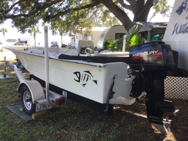 Photo Bay  Flats boat for sale - $7,500 (Eastpoint, FL)