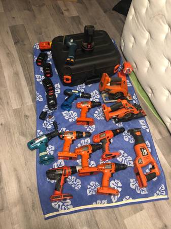 Photo Black and decker tools