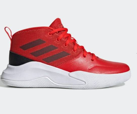 Photo Brand New Red Adidas - Boys Size 7 - $30 (Lynn Haven)