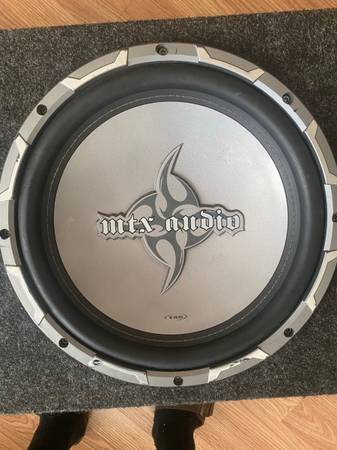 Photo Dual 12 250W MTX Audio Subwoofers  Amp - $250 (Panama City)