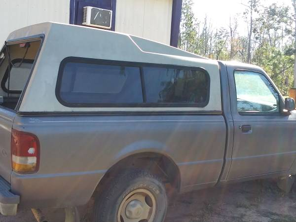 Photo PENDING Small Truck Cer Shell (on 9539 Ford Ranger Reg Cab) - $100 (Panama City)