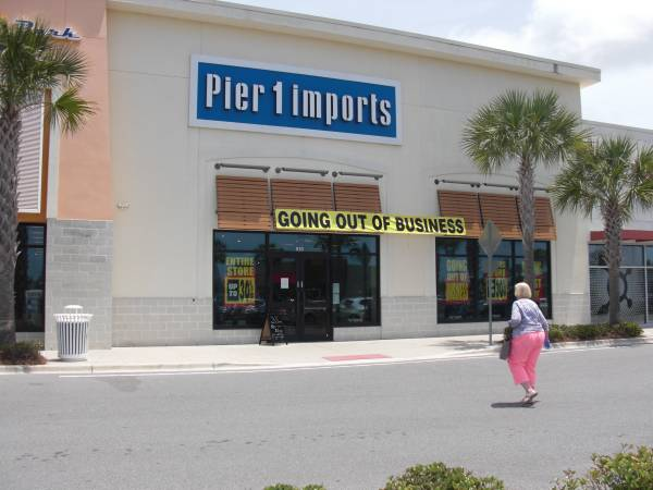 Photo Pier 1 Going Out Of Business (15500 Panama City beach)