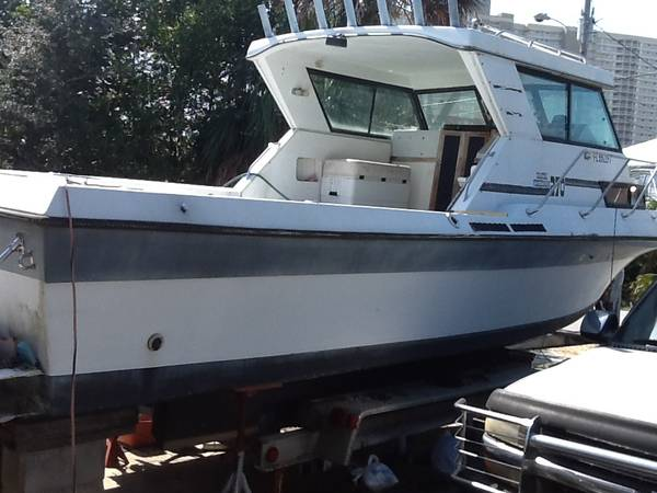 Photo Pontoon boats with trailors - $3,500 (Pcb)