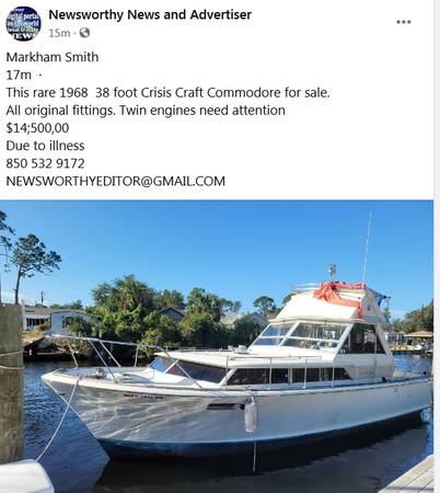 Photo Possible live aboard - $14,500 (Panama City0)
